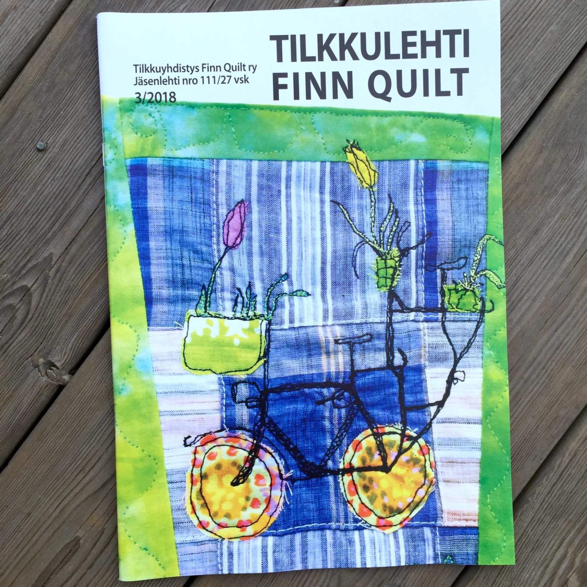 Tilkkulehden 3/2018 kansi
